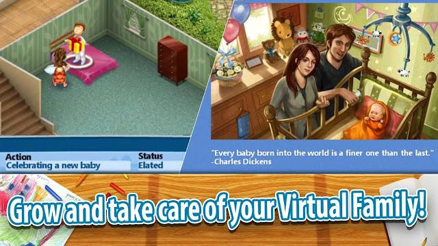 لعبة Virtual Families v1.6.92 مهكرة unnamed+%2810%