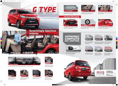 Brosur Mobil Toyota Calya 2016