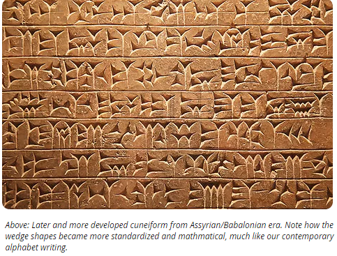 Can You Believe Cuneiform Was Given by Anunnaki Gods