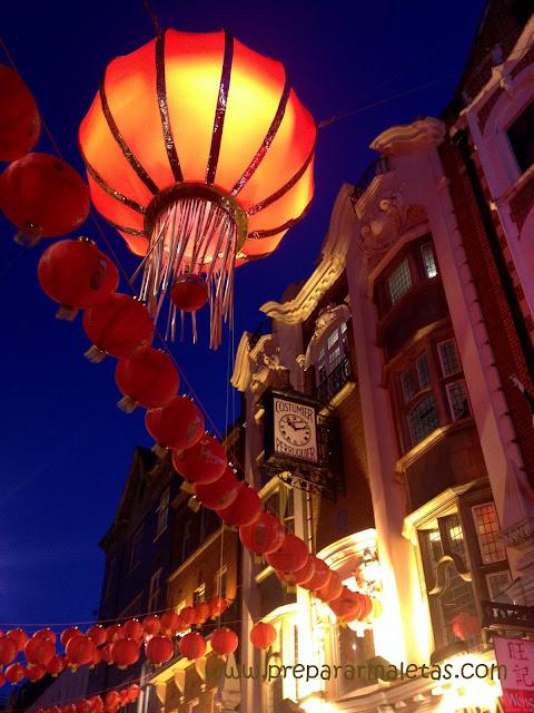 el barrio chino de Londres