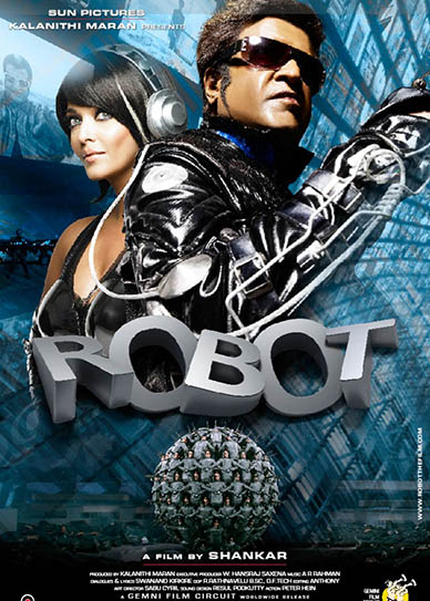 Poster Of Robot 2010 720p Hindi BRRip Full Movie Download