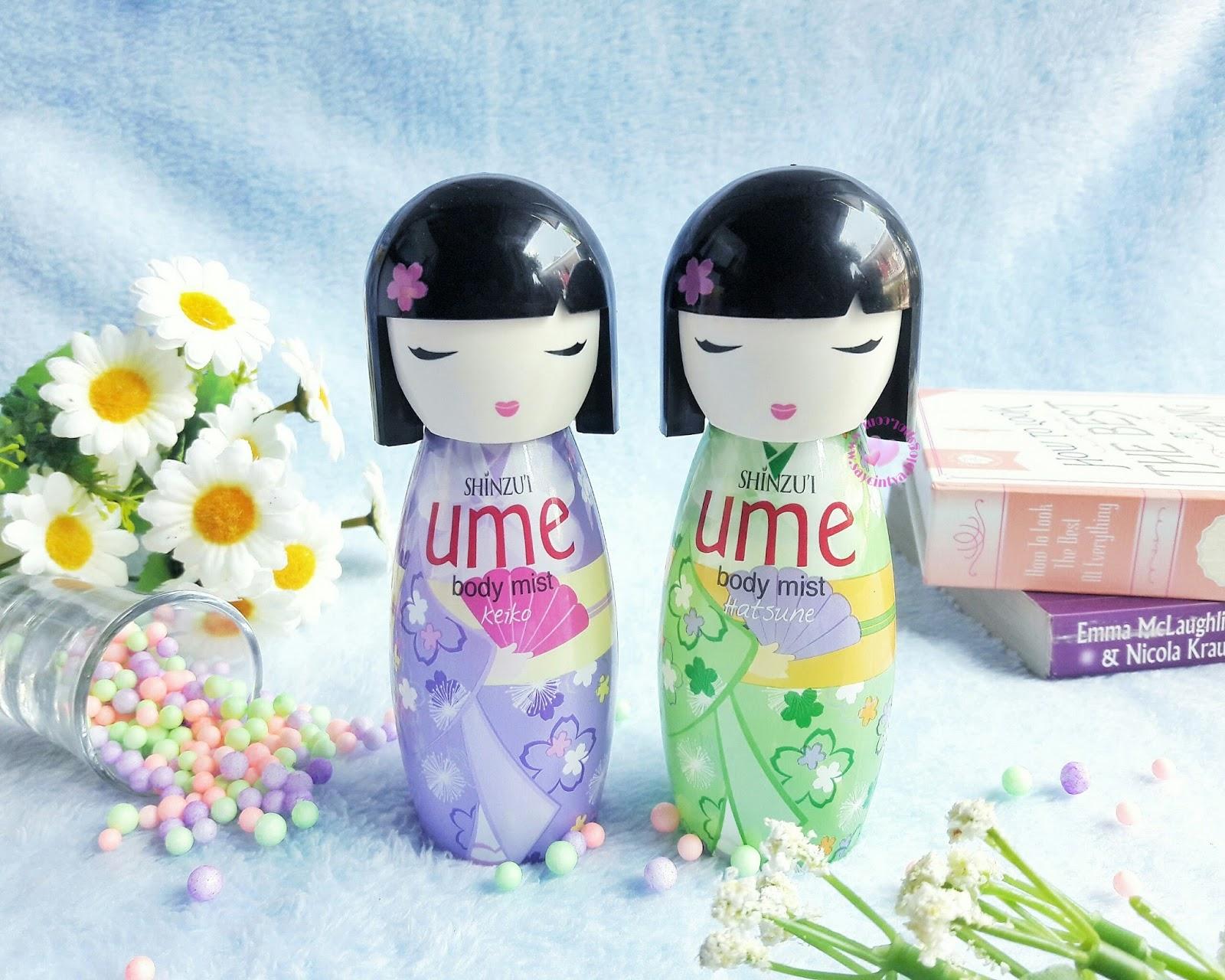 Cintyas Beauty Blog Indonesian Blogger Review Shinzui Ume Body Mist Keiko Hatsune