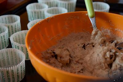 Muffin salati noci e pomodori secchi