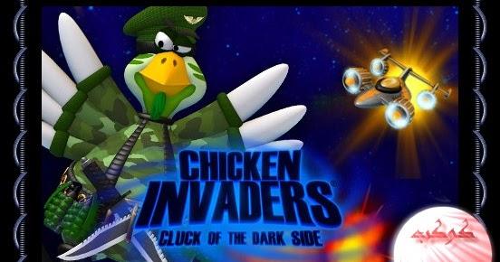 chicken invaders 5 cluck of the dark side تحميل لعبة