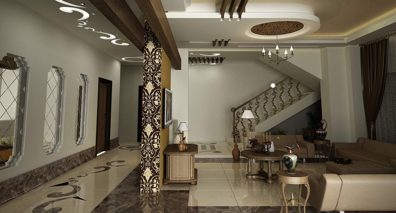 ديكورات جبس بورد غرفة الجلوس 2019 ديكور خرافي -Modern Living Room Gypsum Board Designs