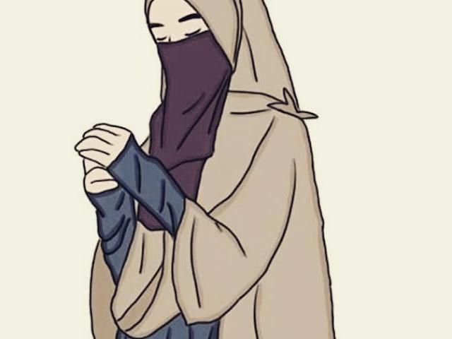 Cute Hijab Animation