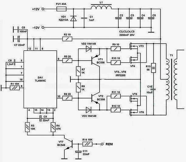Einfache Inverter 12-220 Volt Watt 2000-2500