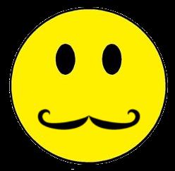 Smileys Mustache Thinnest