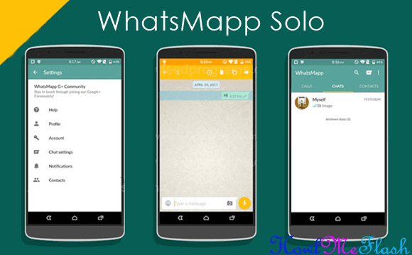 download whatsapp solo for dual account