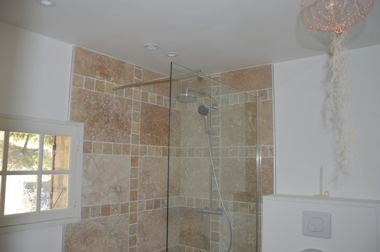 Maison malaucène renoveren de mezzanine de badkamer