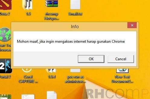 Cara Menampilkan pesan Saat PC Menyala Dengan Notepad