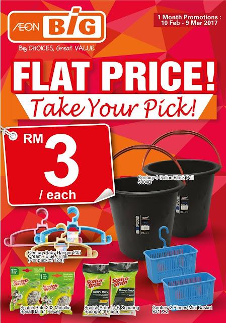 AEON BiG Flat Price Promotion Catalogue