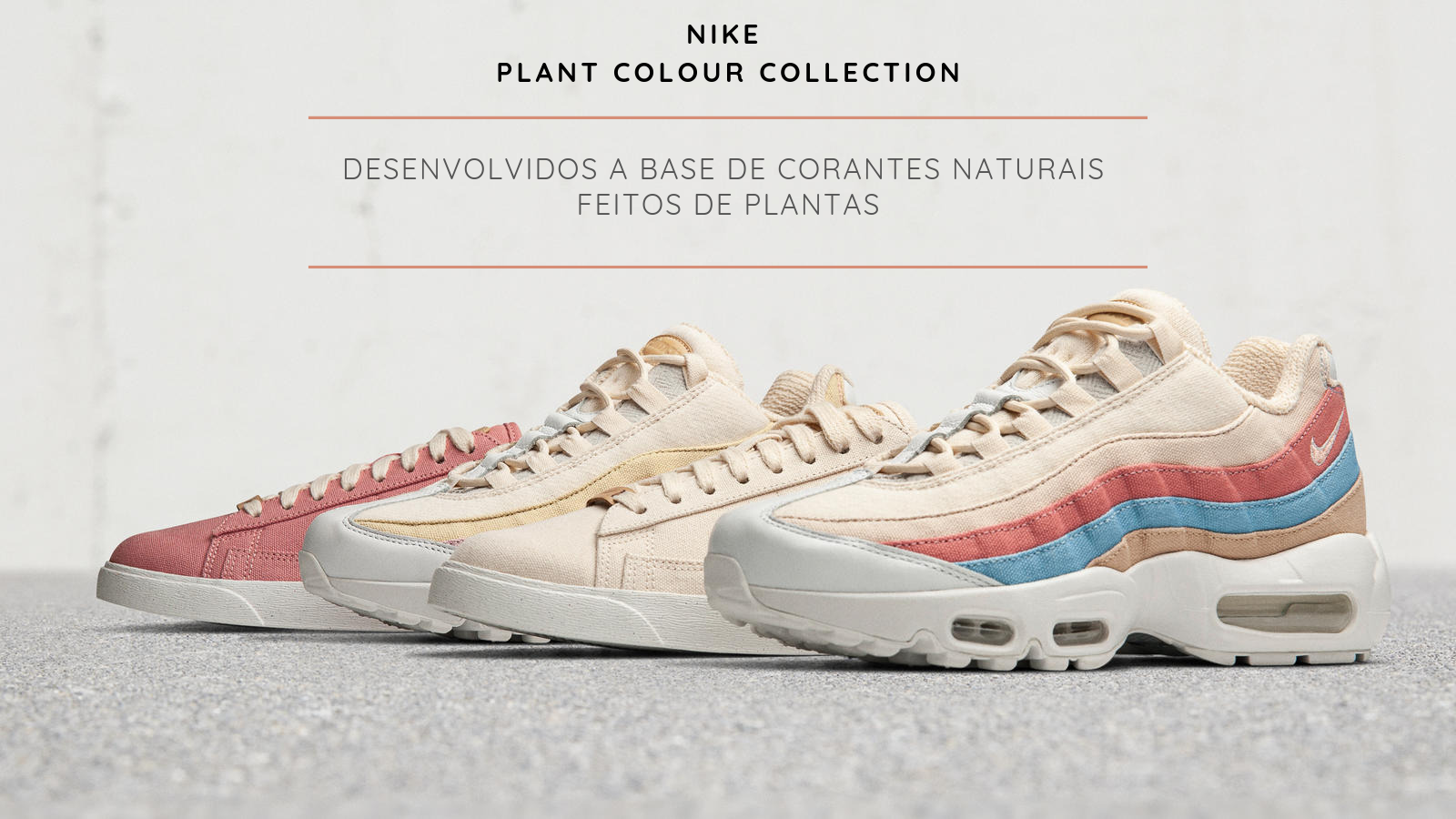 Nike utilizará corantes a base de plantas em nova coleção