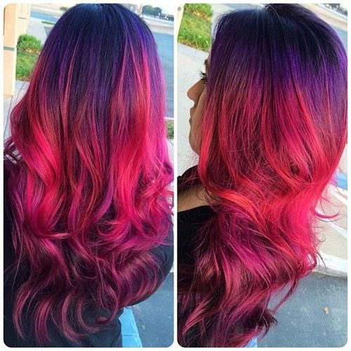 Beautiful Sunset Hairstyles The Haircut Web