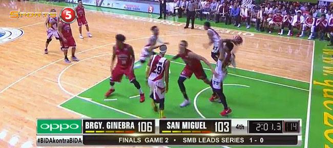 HIGHLIGHTS: Ginebra vs. San Miguel (VIDEO) Finals Game 2