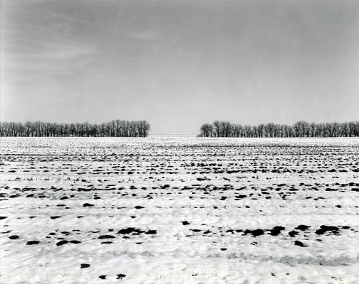 """from """"Illinois landscapes"""" - 1981 - photo by Rhondal Mckinney   sad winter black and white photos   imagenes bellas de soledad y tristeza, fotos en blanco y negro bonitas"""