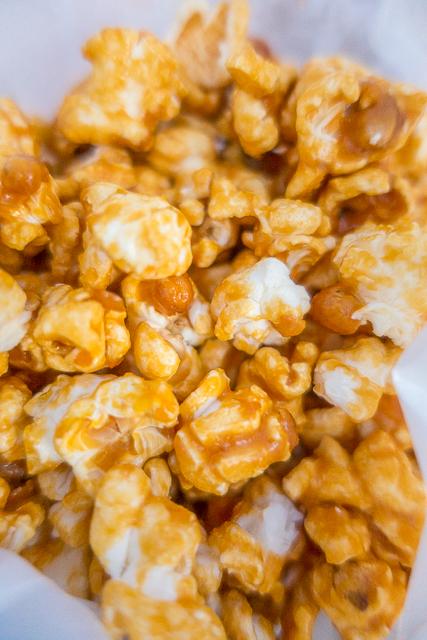 Fresh Caramel Popcorn - Germany Pavilion - Epcot Walt Disney World