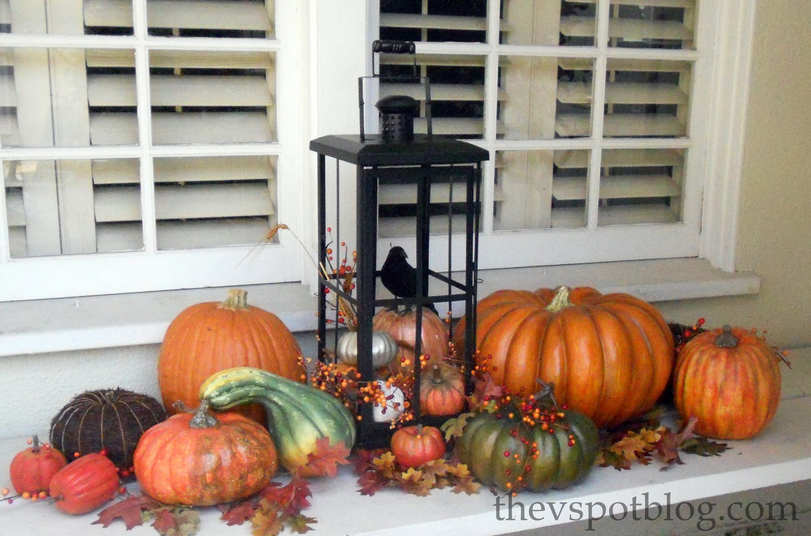 Pumpkins Gourds Fall Decor Outdoor