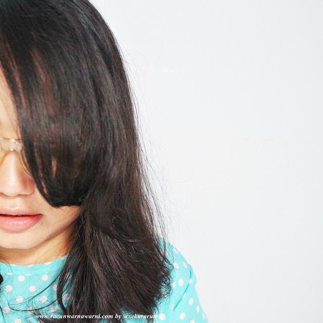 Rambut Basah Belum Catokan