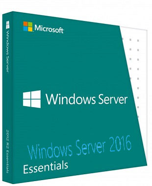 Microsoft Windows Server Essential 2016 poster box cover