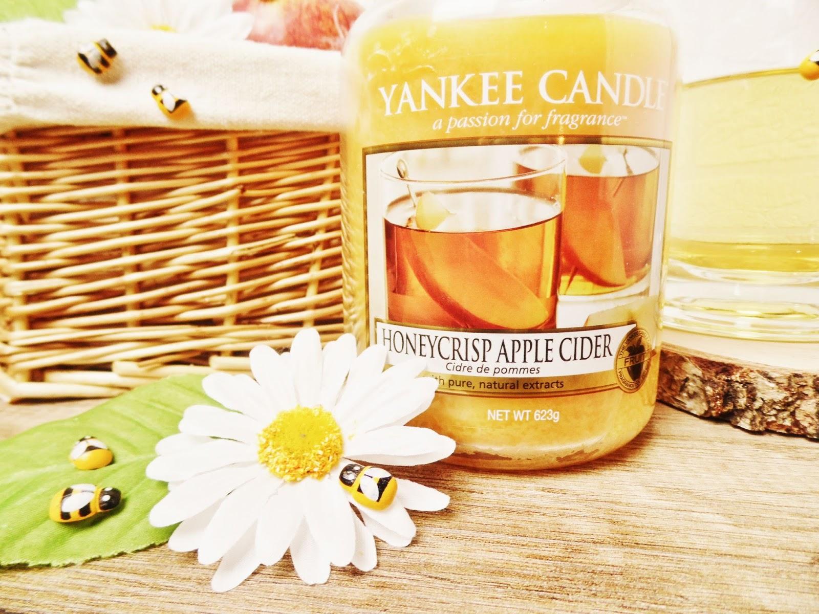 Honeycrisp Apple Cider Yankee Candle