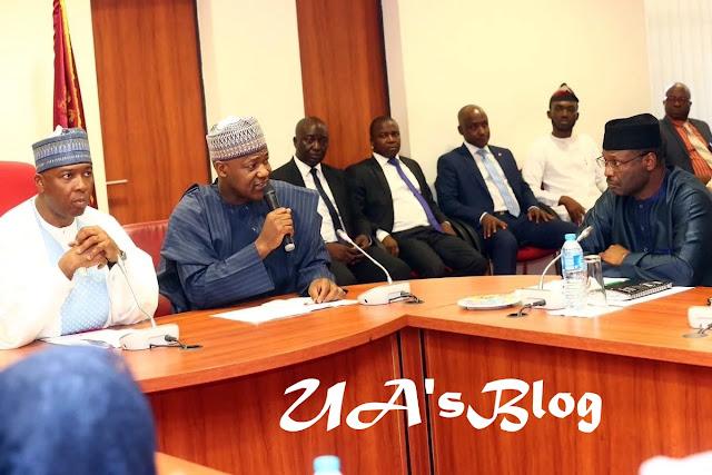 Details of Saraki, Dogara, INEC chairman meeting emerge