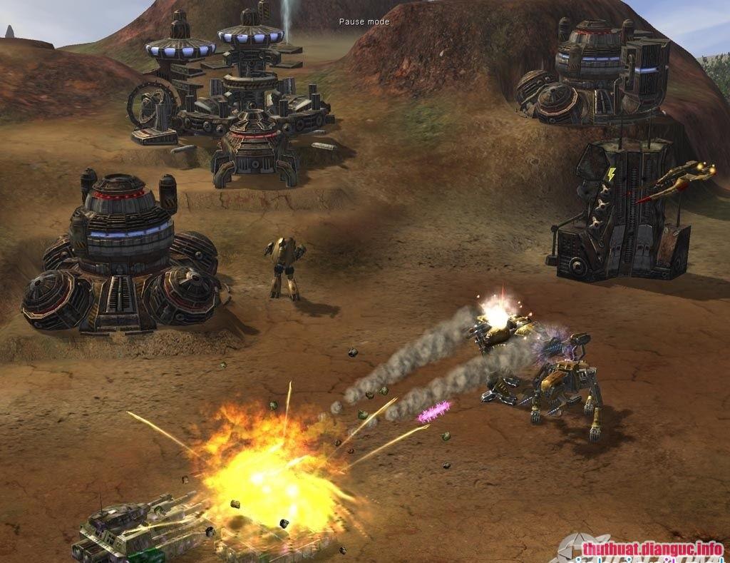 GameĐại chiến trên sao Hỏa Full crack