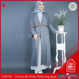 Jual RRJ133D77 Dress Midle Set Wanita Dua In Satu BMGShop