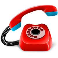 Kontak telepon denature
