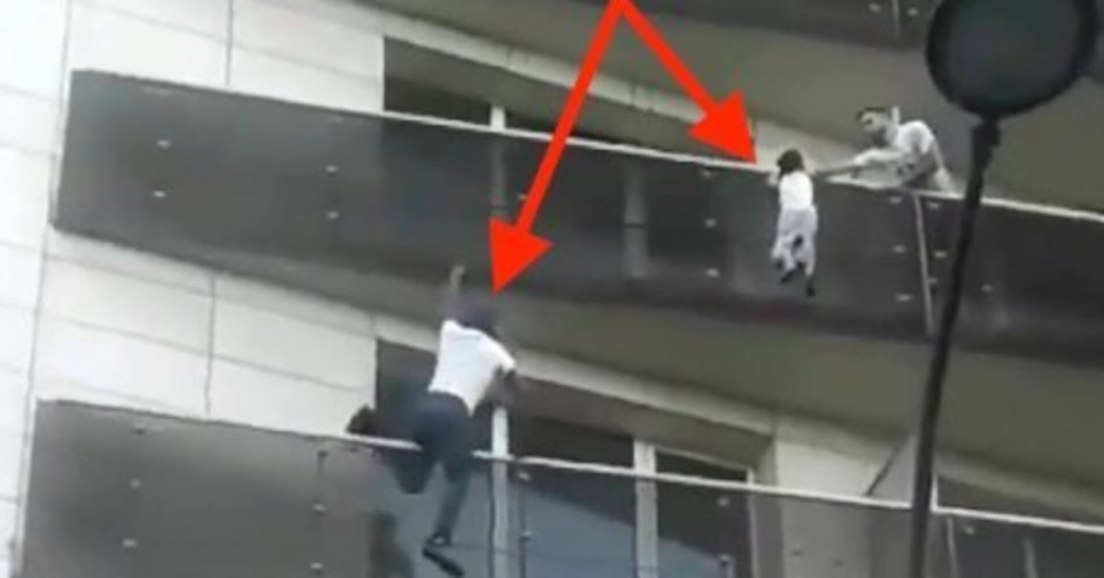 Real-Life Spider-Man Climbed Up A Building To Rescue A Dangling Kid
