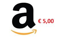 Logo Vinci gratis fino a un massimo di 4 Buoni Amazon da 5,00€
