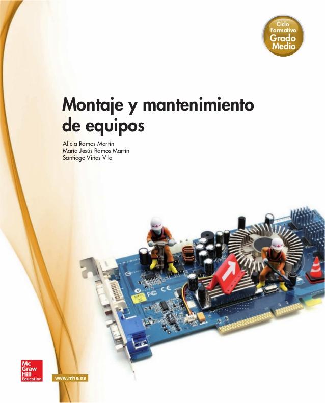 Montaje y mantenimiento de equipos – Grado Medio 2012
