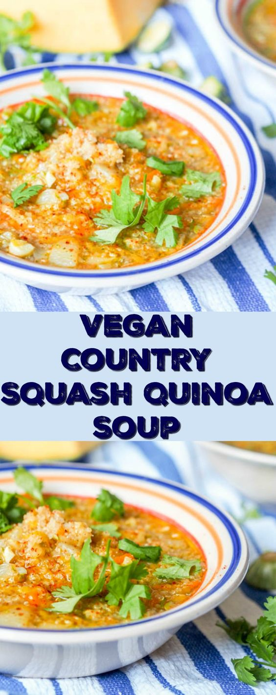 Country Quinoa Soup
