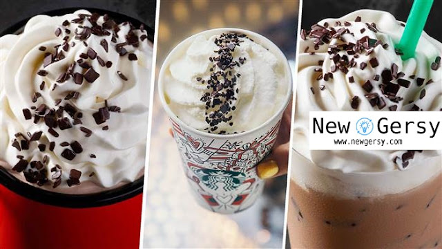 Starbucks debuts black-and-white drinks for New Year's Eve