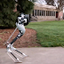 Robot met struisvogelpoten gaat pakketjes bezorgen
