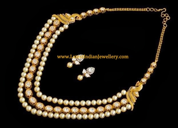 Pearls Kundan Necklace