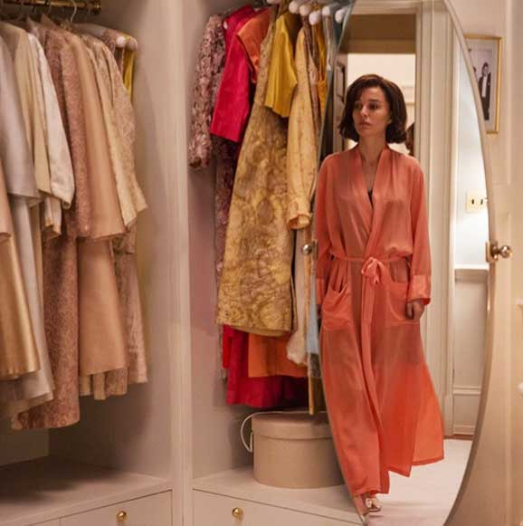 Natalie Portman Jackeline roupão