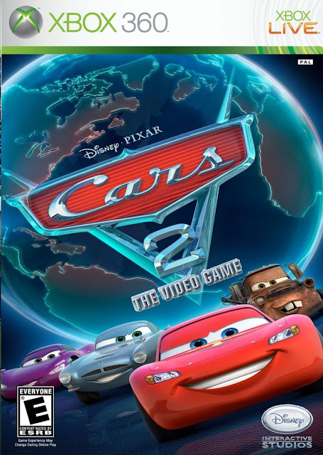 Cars 2: The videogame - Xbox 360 - Multi5 - Portada