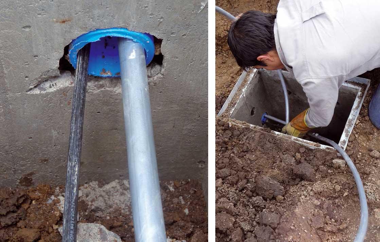 Instalaciones eléctricas residenciales - Detalles de tubería subterránea para telecomunicaciones 2