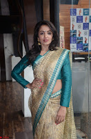 Tejaswi Madivada looks super cute in Saree at V care fund raising event COLORS ~  Exclusive 021.JPG