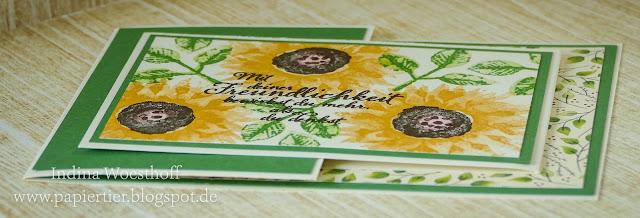 Herbstanfang | DIY Joy Fold Card | papiertier Indina | Stampin' Up! | Anleitung