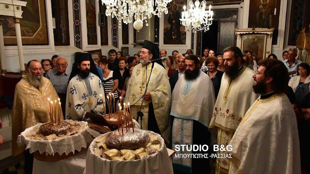Το Ναύπλιο γιορτάζει την μετάσταση του Αγίου Ιωάννου του Θεολόγου (βίντεο)