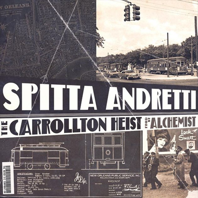 Mixtape: Curren$y & The Alchemist - The Carrollton Heist