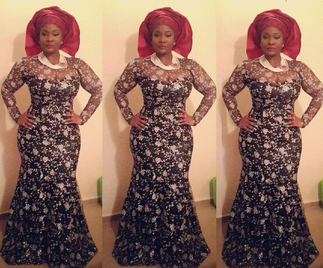 Today' S Gist: Toolz Flaunts Her Curves In Traditional