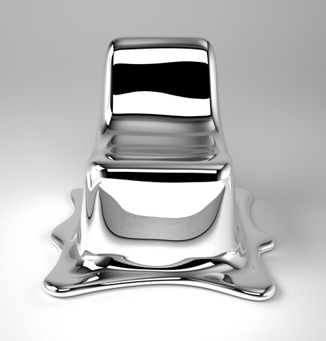 Philipp Aduatz' melting chair