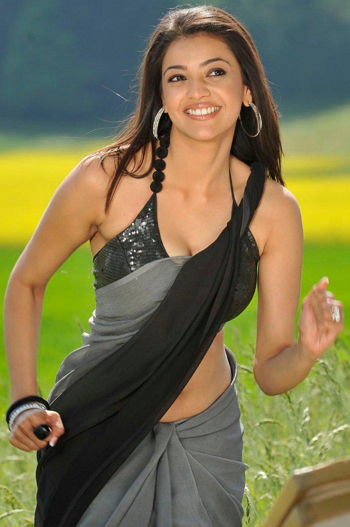 kajal agarwal actress agrawal saree telugu beauty