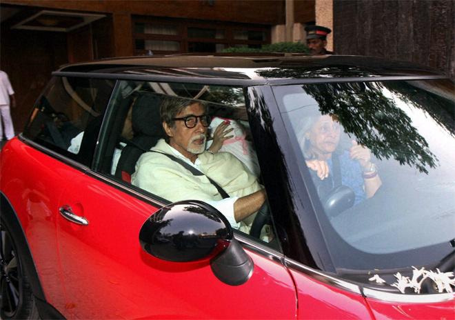Amitabh Bachchan Cars - Mini Cooper S