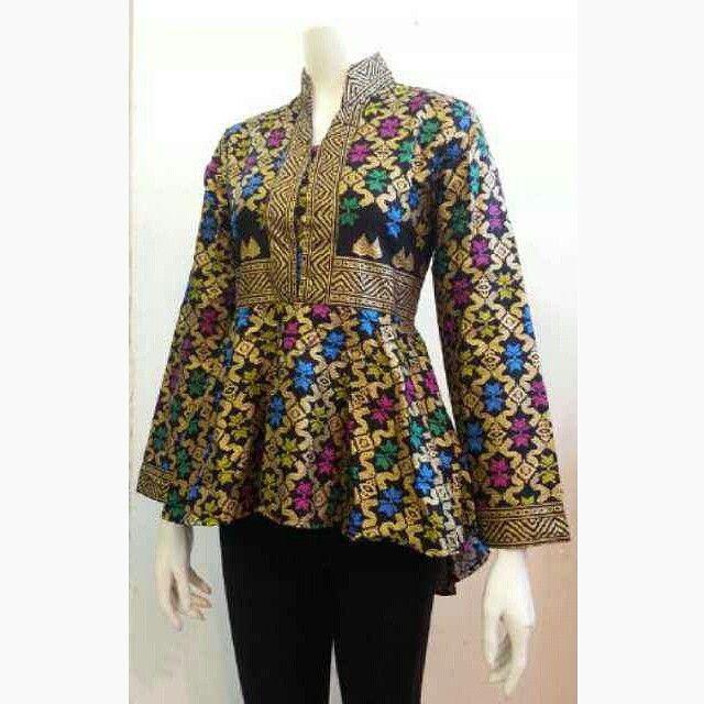 Model Baju Batik Terbaru: Model Baju Batik Kantor Wanita Terbaru Dan Modern