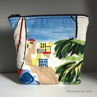homespun by laura, refashion, refashion bag, bag, handmade