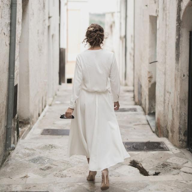 robes de mariee claire joly 2019 shooting inspiration village des pouilles chemisier gordon et jupe geneve